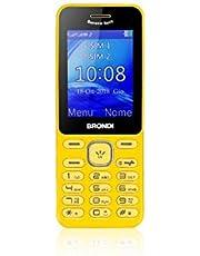 Brondi Banana Split Telefono Cellulare Giallo