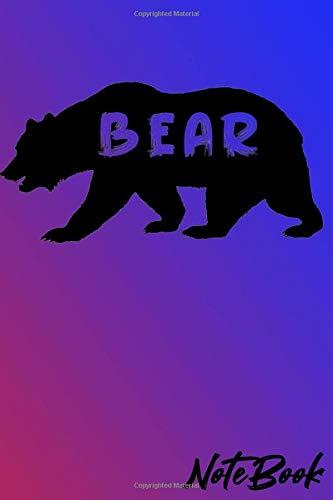 Bear Notebook: notebook with cute bear...