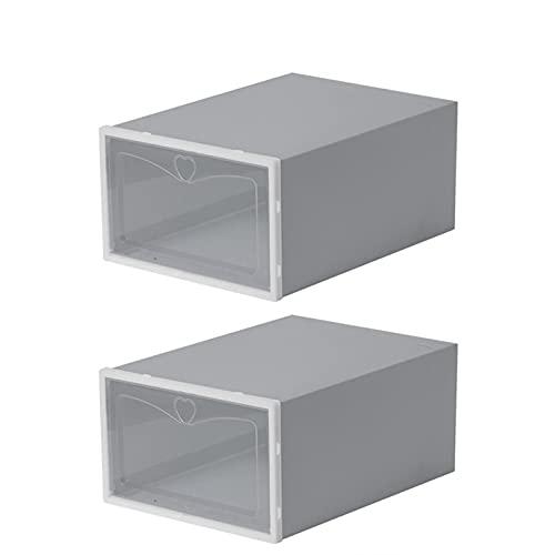 Hotar Organizador de zapatos transparente apilable para zapatos (2 unidades)