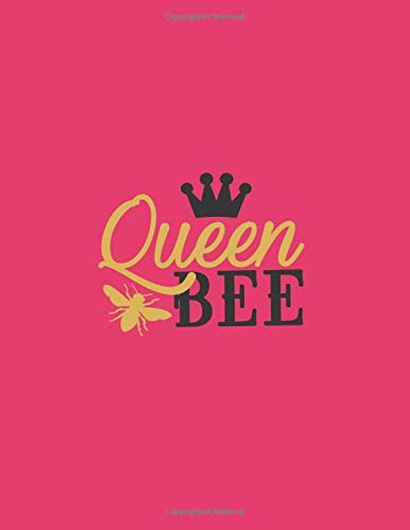 拾うルーフ評論家Queen bee in love valentines day Journal gift for girls & women: Queen bee Notebook valentines day gift for her