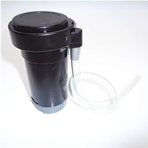 YIYIDA Luftpumpe Luftkompressor 24V Air Pump Luftpumpe Horn Motor Auto Horn Kompressor Kit Verchromter schwarzer Luft Horn Kompressor Auto Horn Motor für jede Luft Horn 24V LKW Auto Zug Boot Horn ect