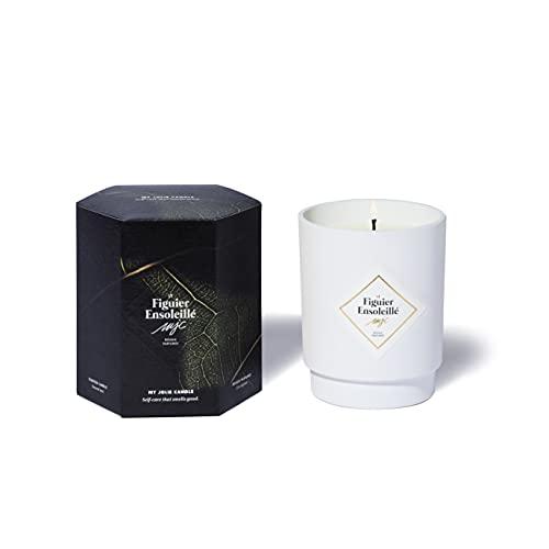 My Jolie Candle, candela profumata al figlio soleggiato, cera naturale 100% vegetale, 50 ore di combustione, profumo francese, 250 g