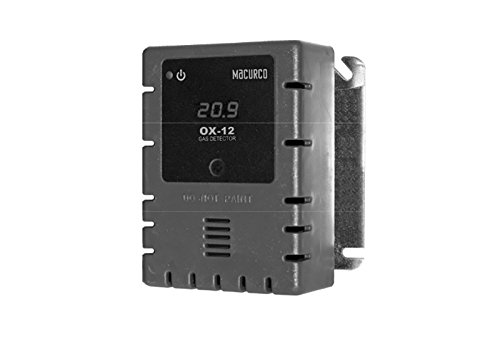 Macurco OX-12 Oxygen O2 (Line Voltage) Fixed Gas Detector Controller Transdu