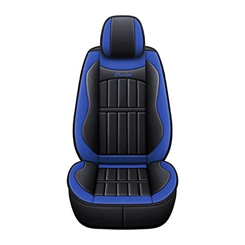 XIAN W PU CUBIERTE DEL COCHE DEL COCHE CUBIERTA DE CAJA DE CUBIERTE A prueba de agua Ajuste de resbalones for BMW E46 E90 for Passat B6 for golf MK4 for Peugeot 206 for VW ( Color Name : 1Pc Blue )
