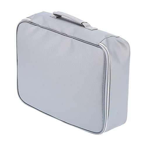 Bolso incombustible del archivo, prenda impermeable del organizador del documento doblado fácilmente ligero para el hogar