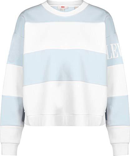Levi's® CB Diana Crew W Sweater Haley Baby Blue/White