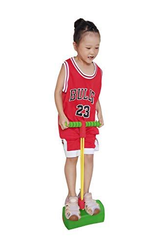N+A Sicheres Springspielzeug Pogo Stick Kids Balance Koordination Trainingsspielzeug Fitnessstudio Sporttrainingsgerät Schaum Pogo Jumper für Kinder Indoor Outdoor Sport Fitness Spielzeug