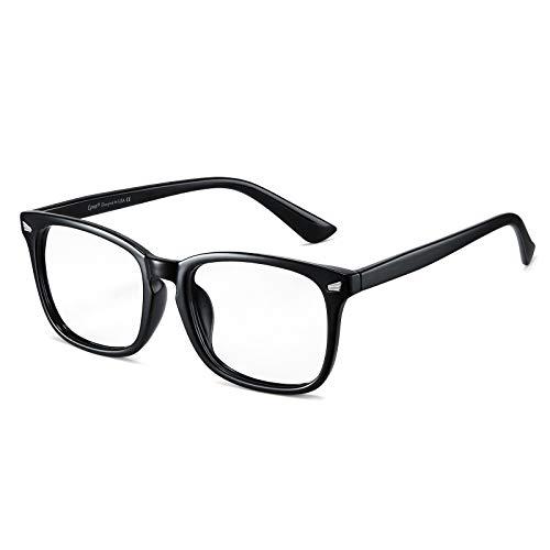 Cyxus Blaulichtfilter Brille Herren TR90 Groß Computerbrille zum Blockieren von UV-Kopfschmerz Gaming-Brille, Update Version
