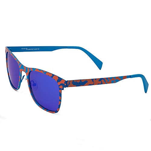 italia independent 0024-027-055 Gafas de sol, Azul, 53 Unisex