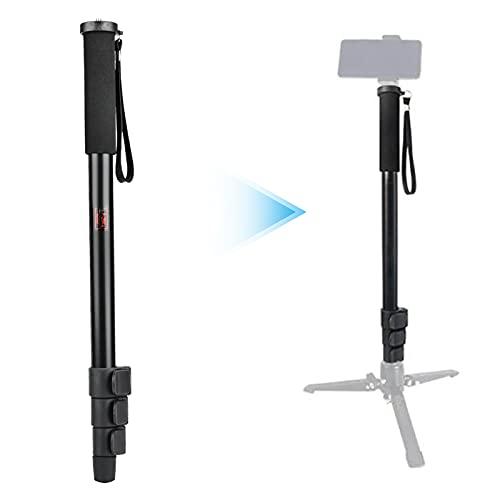 Zopsc-1 Aleación de Aluminio portátil Universal Selfie Stick Monopie retráctil Selfie Stick Mount Support Rod para cámara SLR(P264A)