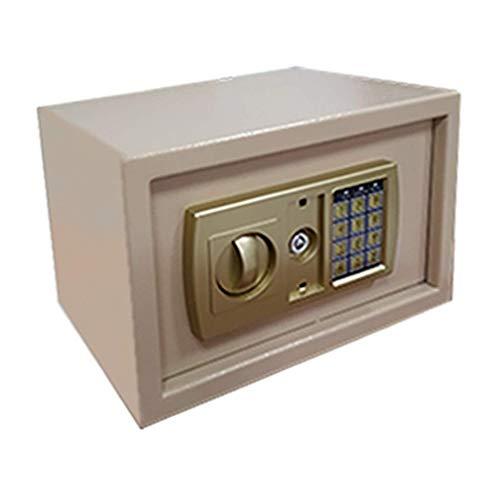 XiYou Caja Fuerte de Seguridad, Caja Fuerte Digital Mediana, con construcción de Acero y Llave de Emergencia para Documentos legales/pasaportes/Joyas/Efectivo Caja Fuerte de Pared de 4 Estilos