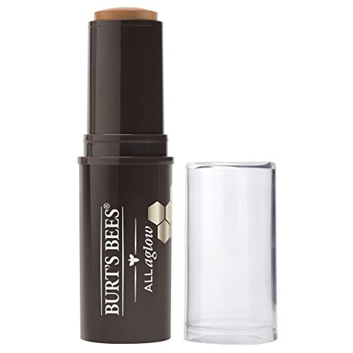 Burt's Bees All Aglow 100% Natürlicher Highlighter Stick, Golden Shimmer - 1 Tube, 8.5 g