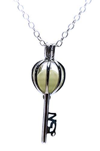 Magic Colgante Collar Luminoso Fosforescente Se Ilumina en la oscuridad Collar para Mujeres