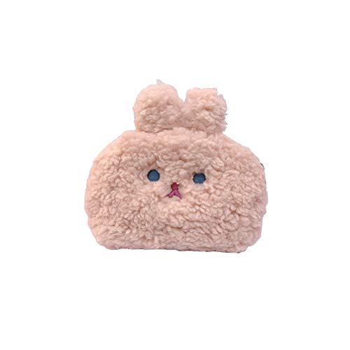 Tendycoco Handtas, organizer, tas voor meisjes, beige 16 * 14,5 * 6,5 cm Roze