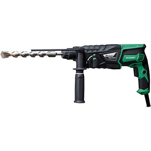 Hikoki DH26PX 26mm 240V SDS Plus Rotary Hammer Drill and Side Handle