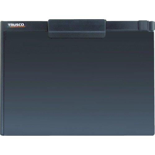 TRUSCO(トラスコ) ペンホルダー付クリップボード(マグネット付) A4横 黒 TCBMA4SBK