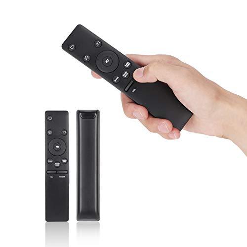 SALUTUYA Altavoz Control Remoto Mayor Distancia de transmisión Inquieta para Deslizar Pieza de Repuesto Fácil de agarrar para Samsung para Samsung Altavoz Curvo de Barra de Sonido