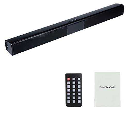 RYSF Sistema de Sonido de Cine en casa Altavoz Bluetooth Altavoces de computadora para TV Barra de Sonido Caja Subwoofer Radio Centro de música Boom Box Columna (Size : 550 * 30 * 50mm)