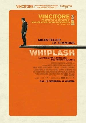 Whiplash – Italienisch Film Poster Plakat Drucken Bild - 43.2 x 60.7cm Größe Grösse Filmplakat