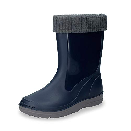 Beck Basic, Botas de Agua Niños, Azul (Dunkelblau 05), 34 EU