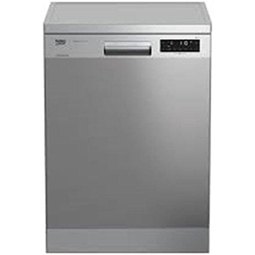 Beko DFN28430X lavavajilla Independiente 14 cubiertos A+++ - Lavavajillas (Independiente, Acero inoxidable, Tamaño completo (60 cm), Acero inoxidable, Tocar, LCD)