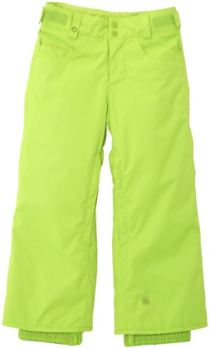 Quiksilver Jungen Snowboard Hose State Youth 10K, Lime Green, 10 Jahre