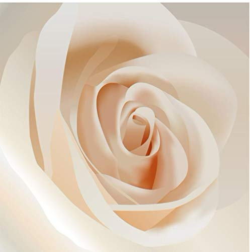 Fotobehang op maat 3D muurschilderingen behang voor muren 3D Modern Warm Romantisch Roze Rose Grote muurschildering Wandpapier Bedding Kamer Slaapbank TV Achtergrond Canvas Mural 120x100cm