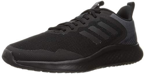 adidas FLUIDSTREET, Zapatillas de Running Hombre, NEGBÁS/NEGBÁS/GRISEI, 45 1/3 EU