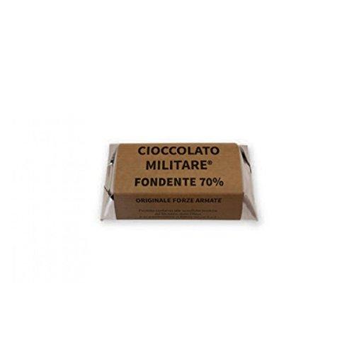 Cioccolato Militare - Dadone 200 grammi - Fondente 70% - Originale Forze Armate