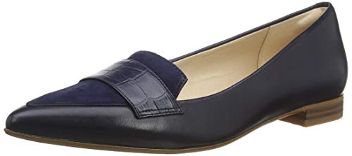 Clarks Damen Laina15 Loafer_Slipper, Blau (Navy Croc), 37 EU