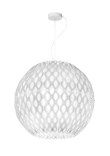 Suspension 4 lampes design Charlotte Slamp