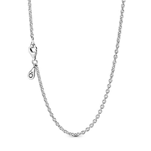 Pandora Jewelry Silver Chain Sterling Silver Necklace, 17.7'