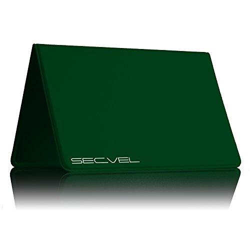 Cubierta Protectora Probada y patentada por TÜV Protección de Tarjeta para 6 Tarjetas CF+ Green | Bloqueador RFID NFC | Blindaje de Campo magnético | Jammers para Tarjeta de crédito, de Identidad
