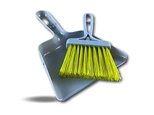 Mini pala de mesa | Conjunto de limpieza | Diseño de clip | Ideal para migas polvo y pelos de animales | Fácil de colgar o colgar | Flexible y práctico | Kibros Minipb
