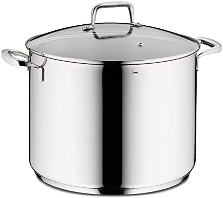 Kela Stock Soldering Pot 13 QT Selling and selling Stainless Cooking Lid Glass Steel P
