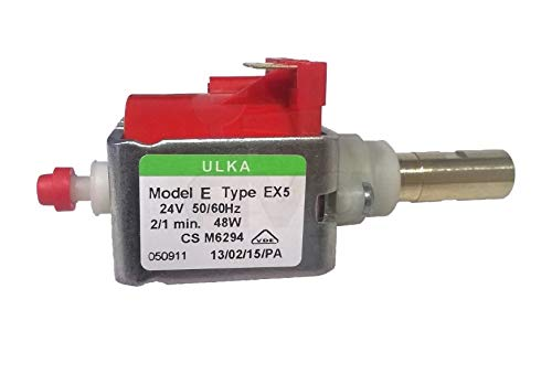 Bomba vibratoria ULKA EX5 24 V 50/60 Hz salida de latón Artículo CHISKOIT : OEO18