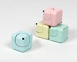 Elegant Fidget cube new Rubik's Cube toy Cyclone cube finger fingertip top (blue)