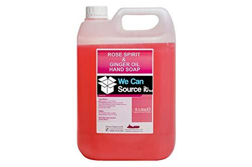 We Can Source It Ltd – Jabón líquido para Lavar a Mano de 5 litros de Capacidad, Relleno a Granel para dispensadores