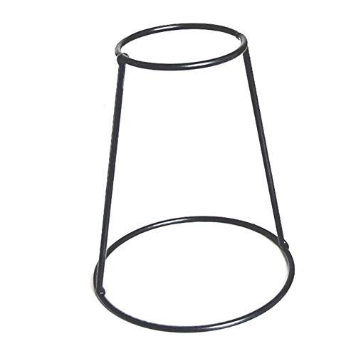 yanqiu Mooie Nordic Style Draad Vaas Creatieve Desktop Planter Set met Glas Cup Vazen IJzeren Metalen Stand voor Waterplanten Bloem Arrangement Decoratie Geschenk voor Thuis Bruiloft