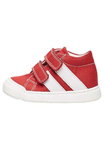 Falcotto Gazer VL-Sneaker in Tessuto-Rosso Rosso 26