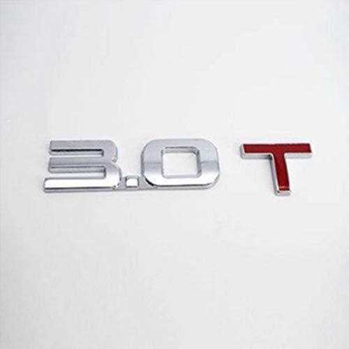 Kitechildhood Pegatina de Metal 3D para Coche, diseño de Logotipo