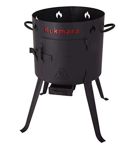 Kukmara Set - Uchag mit Kasan 12L Offen Kasan Grill Camping Плов