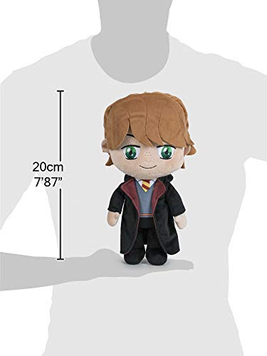 FAMOSA-SOFTIES-Harry-Potter-Set-4-plush-toy-787-20cm-Harry-Potter-Ministry-of-Magic-Ron-Weasley-Dumbledor-Hedwig-Super-soft-quality