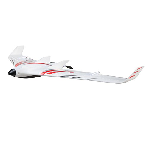 E-flite EFL11460 Opterra S+ 1.2 m FPV-Equipped BNF Basic RC Flying Wing Airplane