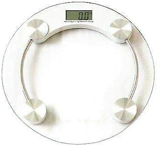MantraRaj Báscula digital electrónica de cristal LCD de 180 kg que ayuda a perder grasa