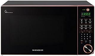 DAEWOO KOR-163HG Horno Microondas 1.6 p3, Diseño Slim, color Negro