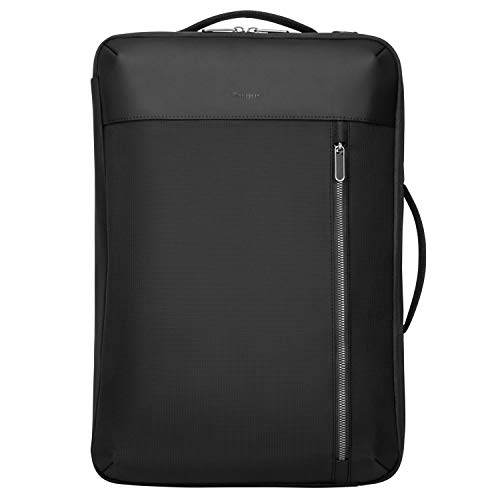 Targus Urban Convertible Backpack with Large Compartment Design for College School Bag with Protective Laptop Pocket fits up to 15.6-Inch Laptop/Notebook, Black (TBB595GL)