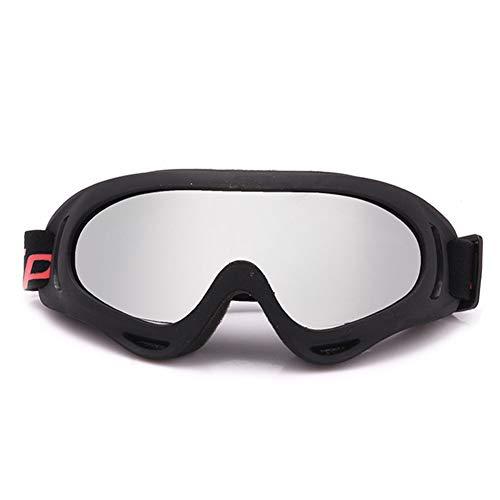 LFF SPORT Sport Zonnebril Fietsen Bril Anti Mist Veiligheidsbril PC Lens Krasbestendig & UV Bescherming Skibril Unisex Frame Geschikt voor Militaire Motorfiets Fietsen