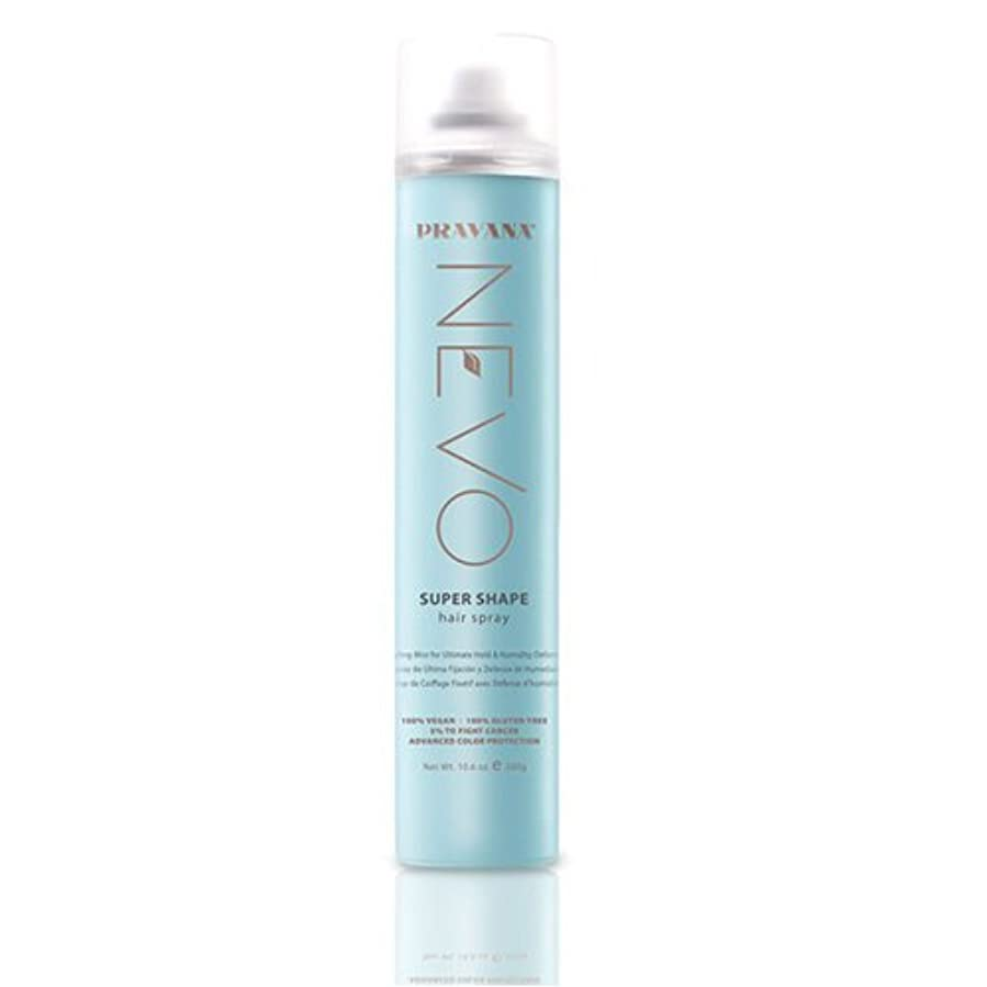 足植木悲惨なPRAVANA NEVO SUPER SHAPE ULTIMATE HOLD STYLING MIST HAIRSPRAY - 10.6oz by Pravana