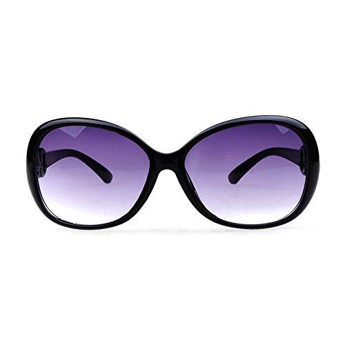 Sebasty Gafas De Sol UV400 Púrpura for Mujer Espejo De Rana Gafas De Sol Elegantes Gafas